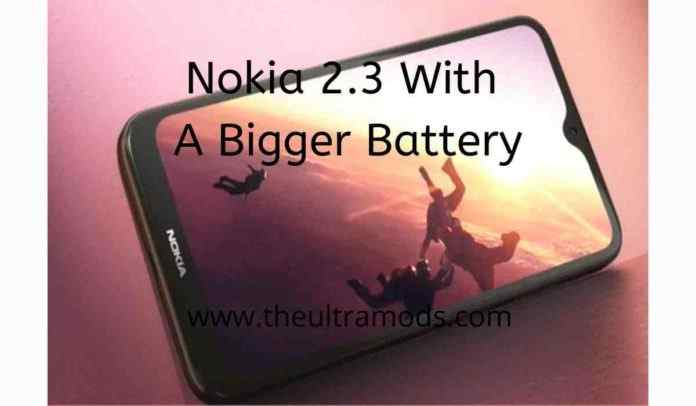 Nokia 2.3 Price and specification