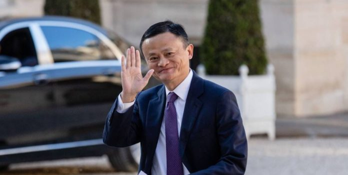 China's richest businessman shows up after two months of silence