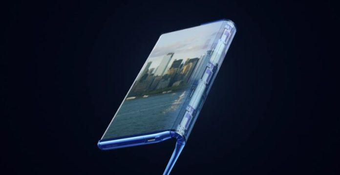 TCL comes up with a Fold-and-roll concept phone