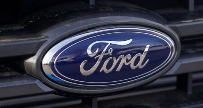 Ford's results broke expectations.  Because the shares are falling.
