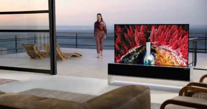 LG rollable OLED R TV is now available in the US