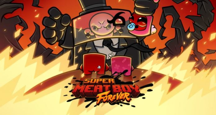 'Super Meat Boy Forever' will be available for PlayStation and Xbox on April 16th