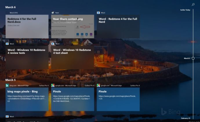 Timeline feature in Windows 10 is going away