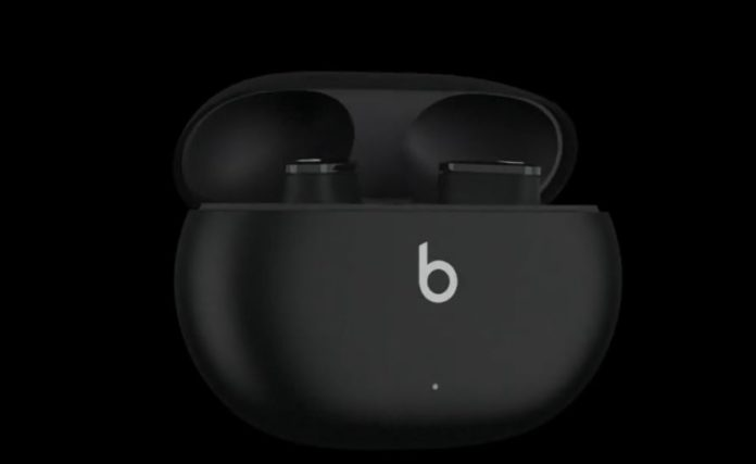 Upcoming Beats Studio Buds pictured in the leaked images