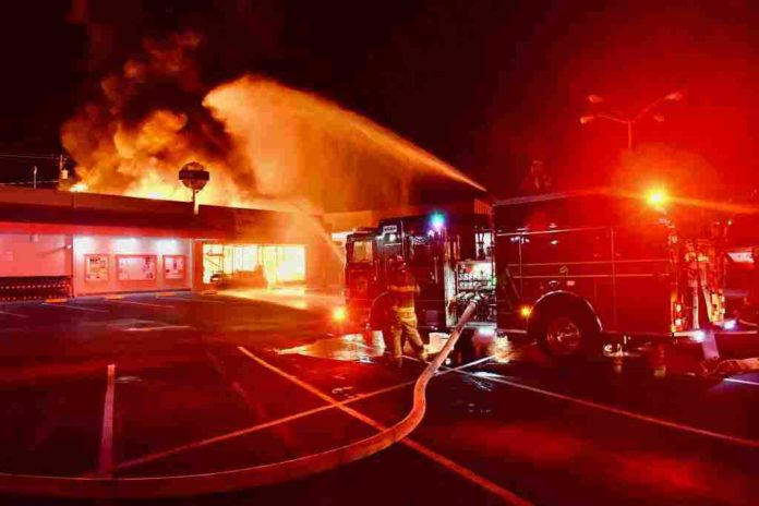 Ukiah's business destroyed by fire early Friday morning - The Ukiah Daily Journal