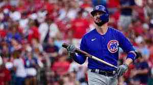 Kris Bryant (hamstring) is out of the Cubs' last game against the Cardinals