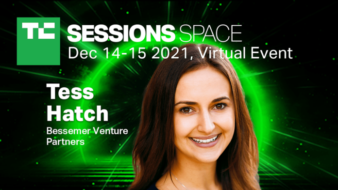 Tess Hatch joins us at TC Sessions: Space this December