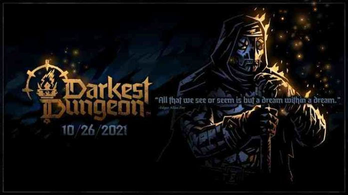 The release date for Darkest Dungeon 2 Early Access is set for October