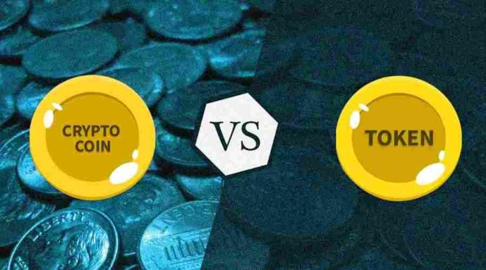 Explore the difference between crypto coins and crypto tokens